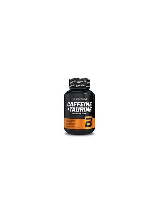BioTechUsa Caffeine + Taurine 60 kapszula