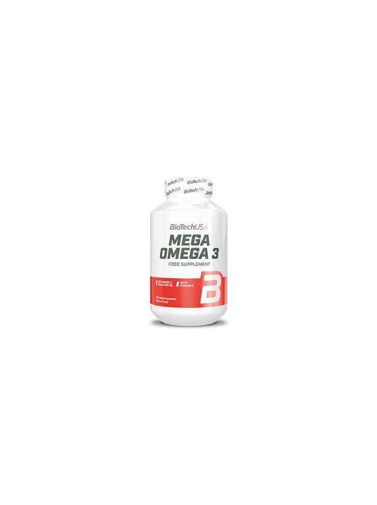 BioTechUsa Mega Omega 3 180 lágykapszula