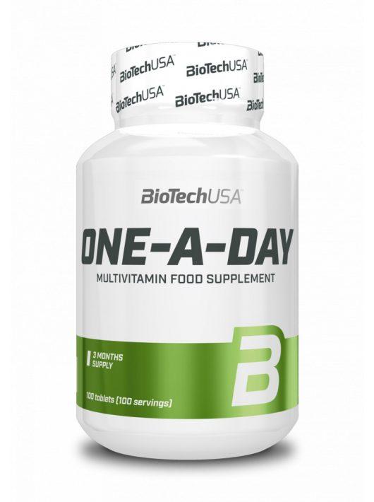 BioTechUsa One - A - Day multivitamin 100 tabletta